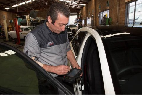 Morris Automotive Log Book servicing image
